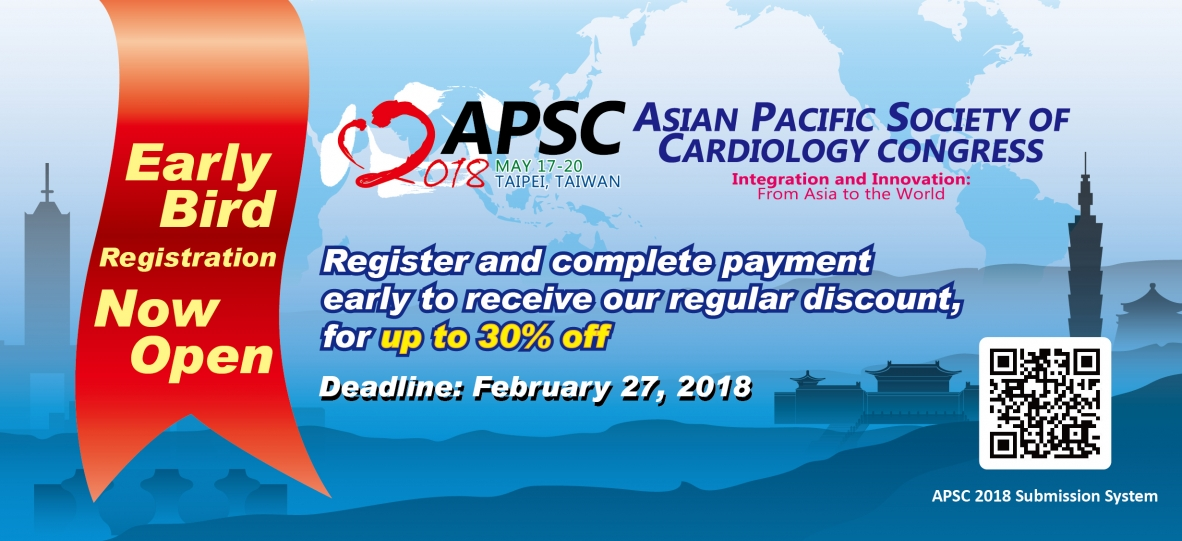 Asian Pacific Society of Cardiology Congress 2018 (APSC 2018)