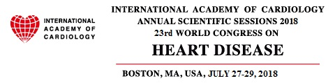 International Academy of Cardiology Annual Scientific Sessions 24th World Congress on Heart Disease 2018