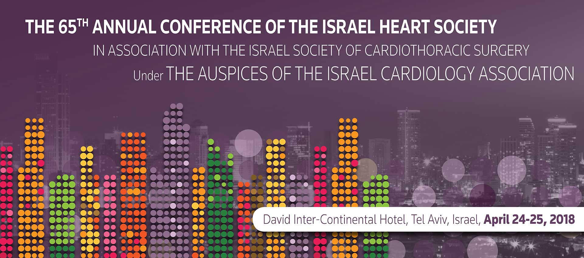 The 65th Annual conference of the Israel Heart Society
